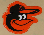 BALTIMORE ORIOLES FULL SIZE HELMET 3M STICKER DECAL