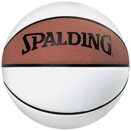 SPALDING NBA 3 WHITE PANEL AUTOGRAPH BASKETBALL (Unboxed)