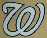 Washington Nationals—Full Size Helmet Sticker Decal
