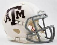 Texas A&M Aggies Alternate White NCAA Riddell SPEED Mini Helmet