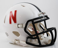 Nebraska Cornhuskers Alternate White 2013 Special Edition Revolution SPEED Mini Helmet
