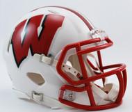 Wisconsin Badgers NCAA Revolution SPEED Mini Helmet