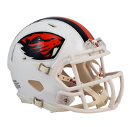 Oregon State Beavers White NCAA Revolution SPEED Mini Helmet