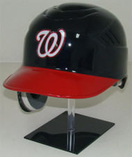 Washigton Nationals Rawlings Coolflo Navy/Red REC Full Size Baseball Batting Helmet