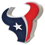 Houston Texans 3D Fan Foam Logo Sign