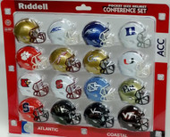 NCAA ACC Pocket Pro Speed Revolution Mini Helmets Set by Riddell