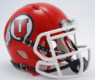 Utah Utes Revolution NCAA SPEED Mini Helmet