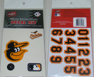 Baltimore Orioles Batting Helmet Rawlings Decal Kit