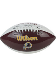 Washington Redskins NFL UNDERGLASS Official Full Size Autograph Football by Wilson