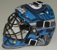 Winnipeg Jets NHL Mini Hockey Goalie Mask