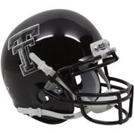 Texas Tech Red Raiders Alternate Black Camo Schutt Mini Authentic Helmet
