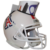 Arizona Wildcats (White) Mini Helmet Desk Caddy by Schutt