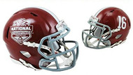 Alabama Crimson Tide 2015 NCAA FBS National Champions #16 NCAA Riddell SPEED Mini Helmet