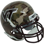 Virginia Tech Hokies ALTERNATE CAMO Schutt Mini Authentic Helmet