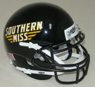 Southern Miss Mississippi Golden Eagles Schutt Mini Authentic Helmet