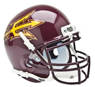Arizona State Sun Devils Maroon Schutt Mini Authentic Helmet