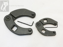 """3/4"""" and 1/2"""" drive Face Pin Spanner wrench set for hydraulic cylinders"""