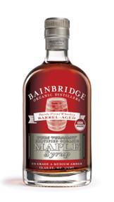 Whiskey Barrel Aged Organic Maple Syrup