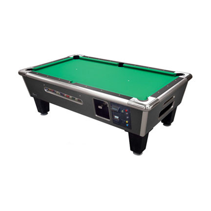 Bayside Charcoal Matrix commercial pool table