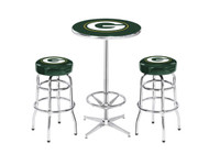 Green Bay Packers Pub Table Set