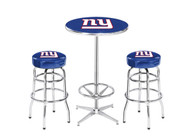 New York Giants Pub Table Set