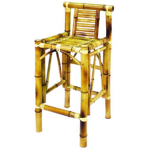 Tiki bar stools a set of 2