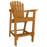 Imperial Home Adirondack Backed Bar Stool