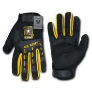 Molded Knuckle Mechanic's Gloves (Small)