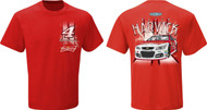 NASCAR Kevin Harvick #4 Budweiser Lightining T-shirt (Medium) [Misc.]