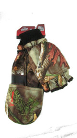 Men's Hunting Oaktree Camo Pop-Top Glove (Large)
