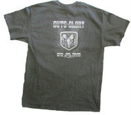 Dodge Ram Guts And Glory T-Shirt (Large, Charcoal)
