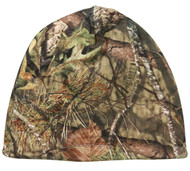 Mossy Oak Country Reversible Blaze Orange / Camo Hunting Knit Beanie