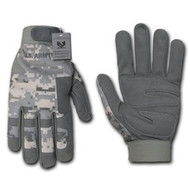 DIGITAL CAMO TACTICAL GLOVE (large)