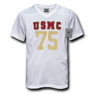 US Marine Core Football Practice Jersey (XL, White)