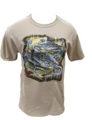 American Blue Crab T-Shirt (XL, Sand)
