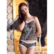 Mossy Oak? Break-Up? Camisole with Pink Lace - 601131 (XX large)