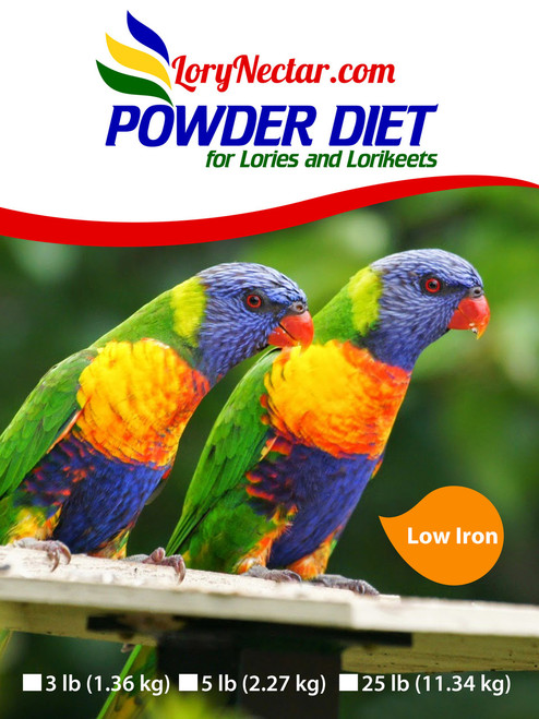 Lory Powder Dry Diet