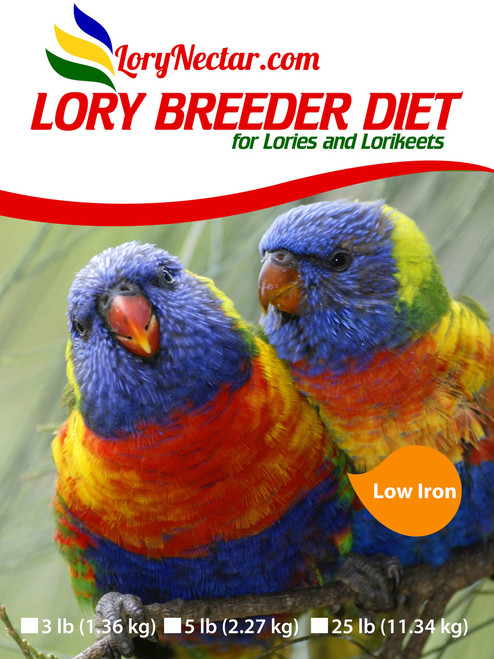 Lory Breeder Diet