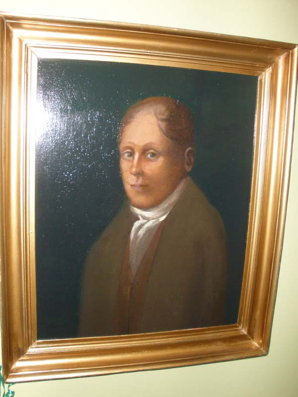 Oil of James Cardiff