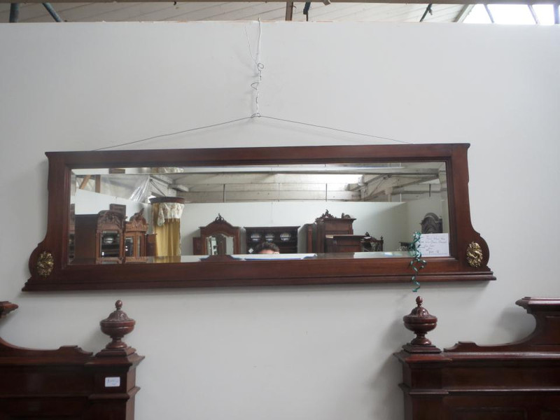 French soild timber mirror