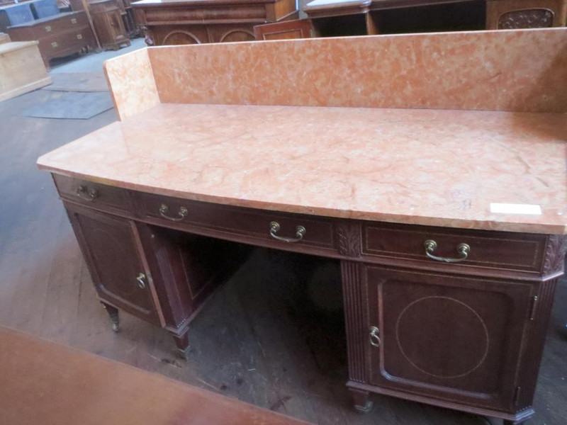 Large marble top washstand