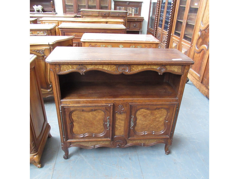 Unrestored two door French sideboard servery