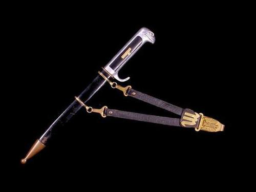 1937 MVSN Dagger w/ Leather Hanger#151
