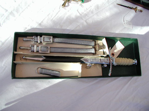 East German Army/Air Force Dagger in box # 690