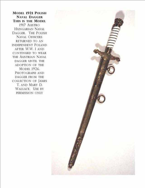1921 Polish Naval Dagger#264