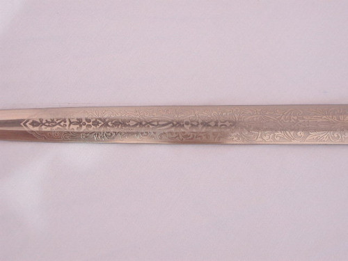 Army Parts Dagger with Eickhorn Post WWII double etched blade #540