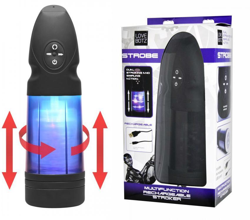 mens sex toys strobe