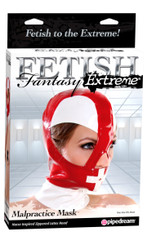 Fetish Fantasy Malpractice Mask Latex Hood