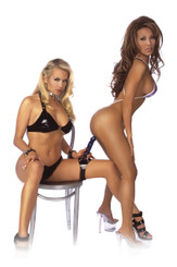 Fetish Fantasy Series Lap Dancer Thigh Strap-On