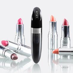 LELO Mia 2 Discreet Lipstick Vibrator - Black - Adult Sex Toys